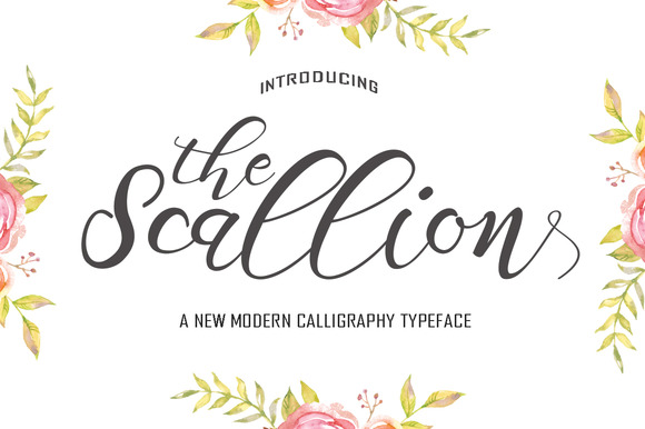 Scallion Font By Polem
