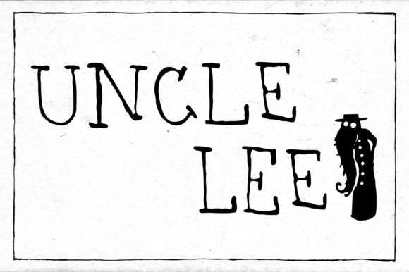Print on Demand: Uncle Lee Light Serif Font By Dawnland