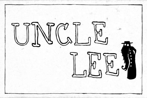 Print on Demand: Uncle Lee Outline Serif Font By Dawnland