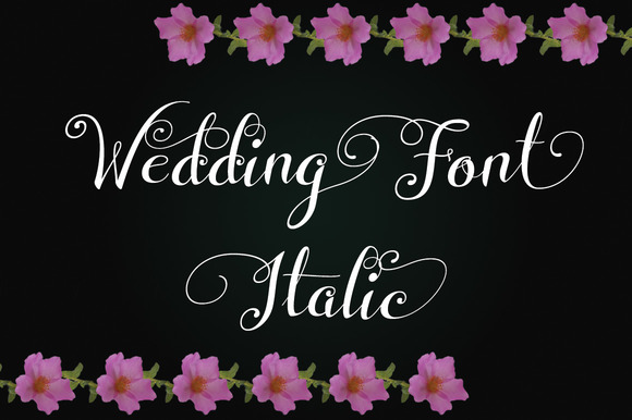 Print on Demand: Wedding Font Italic Script & Handwritten Font By Royaltype