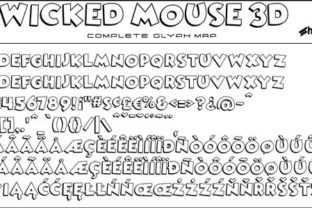 Print on Demand: Wicked Mouse Display Font By Sharkshock 2