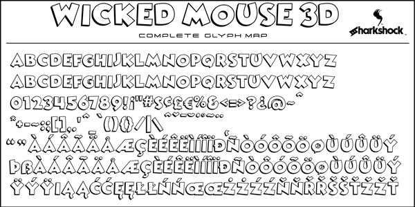 Wicked Mouse Font Download