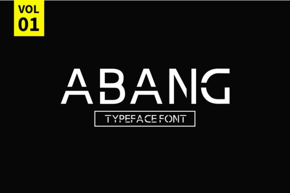 Abang Sans Serif Font By Sameeh Media
