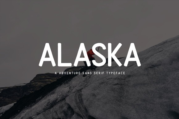 Print on Demand: Alaska Sans Serif Font By Sameeh Media - Image 1