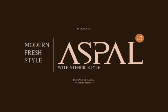 Print on Demand: Aspal Serif Font By Graphicfresh