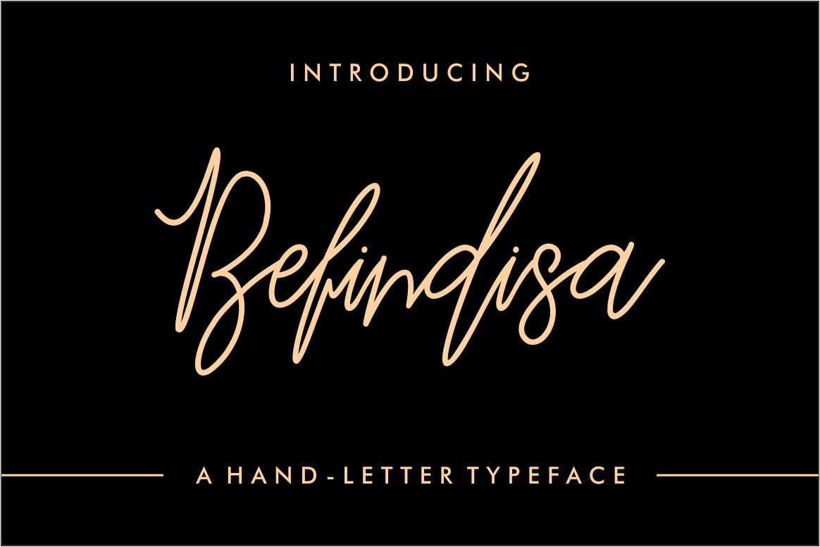 Befindisa Font By Mercurial