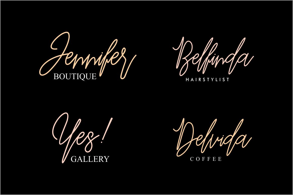 Befindisa Font By Mercurial Image 3