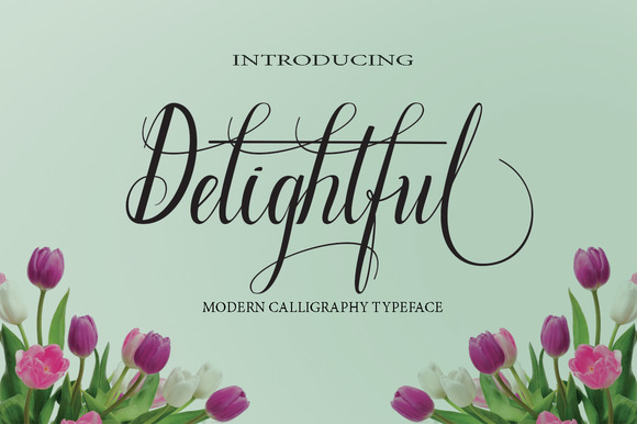 Print on Demand: Delightful Script & Handwritten Font By Danti