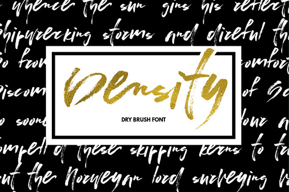 Print on Demand: Density Script & Handwritten Font By Favete Art