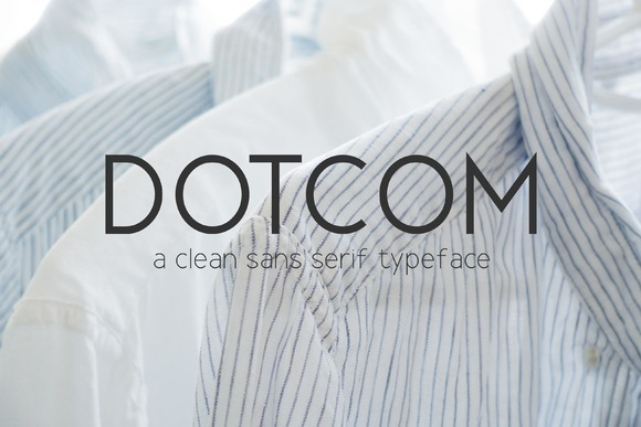 Print on Demand: Dotcom Sans Serif Font By Graphicfresh