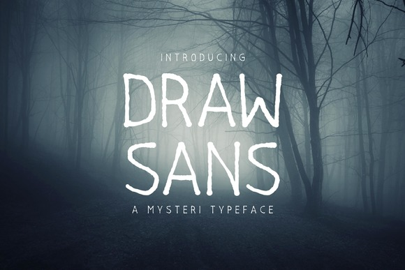 Print on Demand: Drawsans Sans Serif Font By Sameeh Media - Image 1