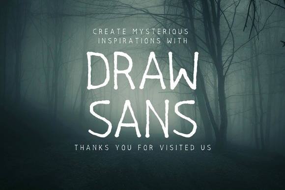 Print on Demand: Drawsans Sans Serif Font By Sameeh Media - Image 5