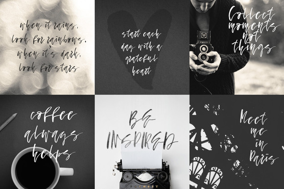 Print on Demand: Fallen Angel Script & Handwritten Font By Favete Art - Image 2