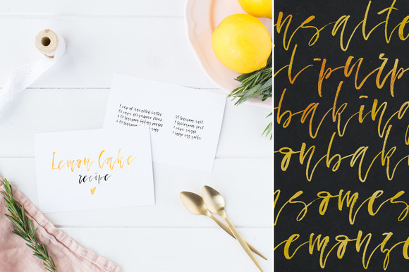 Print on Demand: Fallen Angel Script & Handwritten Font By Favete Art - Image 7