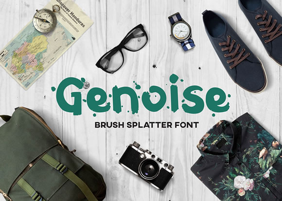 Print on Demand: Genoise Script & Handwritten Font By Milena Gajovic
