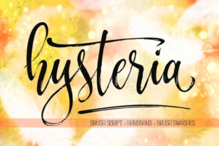Hysteria Font By Byuly Ayika
