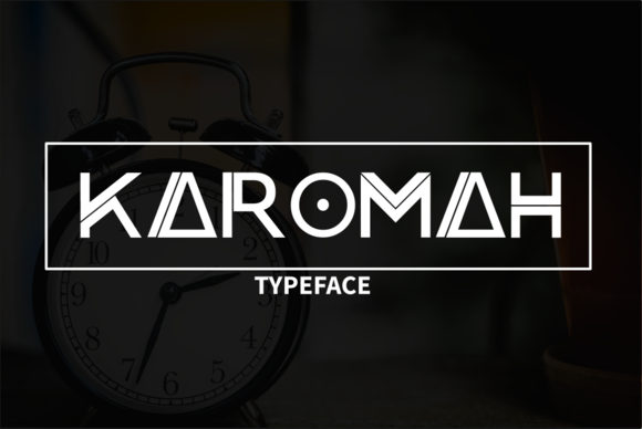 Print on Demand: Karomah Sans Serif Font By Graphicfresh