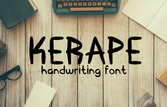 Kerape Font By Sameeh Media Image 1