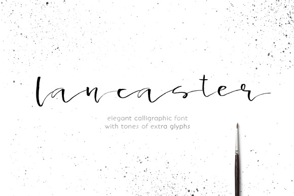 Print on Demand: Lancaster Script & Handwritten Font By Favete Art