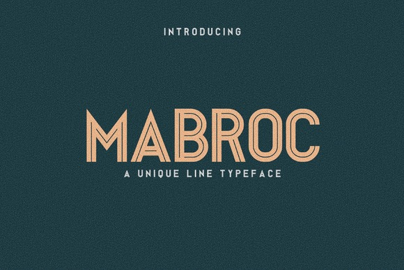 Print on Demand: Mabroc Sans Serif Font By Sameeh Media
