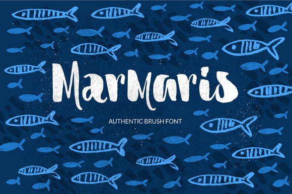 Print on Demand: Marmaris Script & Handwritten Font By Favete Art