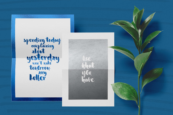 Print on Demand: Marmaris Script & Handwritten Font By Favete Art - Image 4