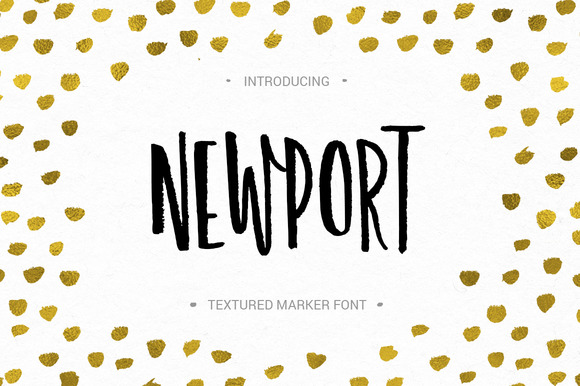 Print on Demand: Newport Display Font By Favete Art