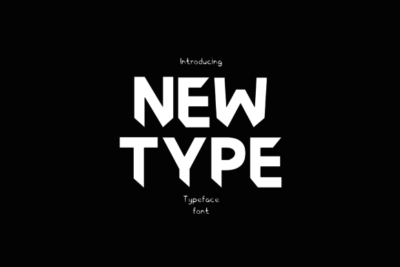 Print on Demand: Newtype Sans Serif Font By Graphicfresh