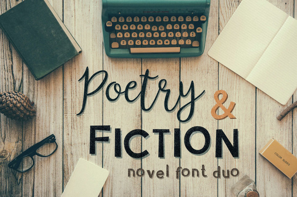 Print on Demand: Poetry & Fiction Script & Handwritten Font By DreamUP - Image 1