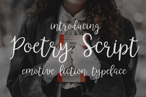 Print on Demand: Poetry & Fiction Script & Handwritten Font By DreamUP - Image 2