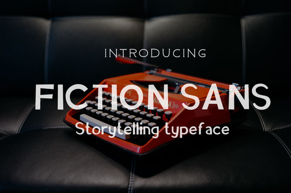 Poetry & Fiction Font Item