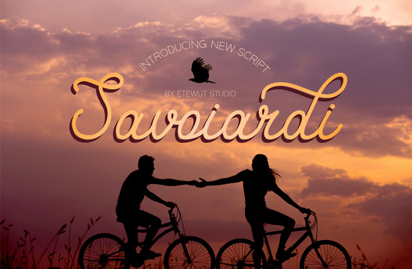 Print on Demand: Savoiardi Script Script & Handwritten Font By Etewut - Image 1