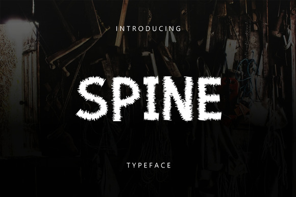Print on Demand: Spine Sans Serif Font By Graphicfresh