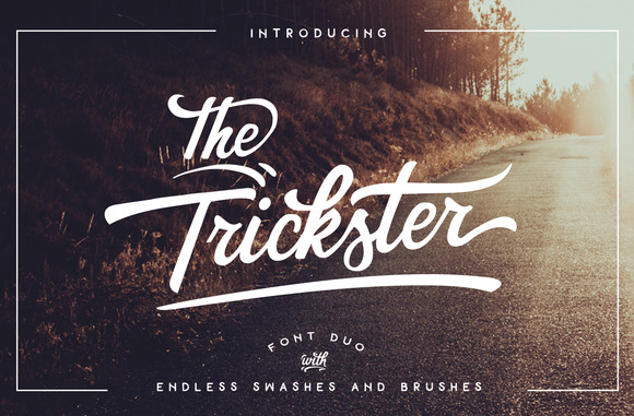 Print on Demand: The Trickster Script & Handwritten Font By BlackCatsMedia - Image 1
