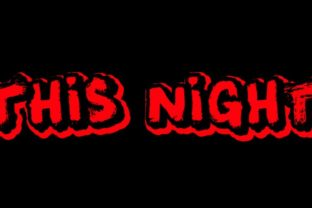 This Night Font By Qkila