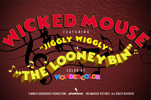 Print on Demand: Wicked Mouse Display Font By Sharkshock