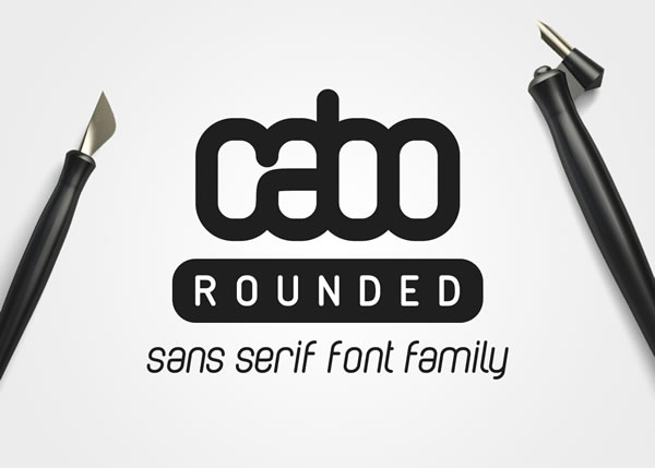 Download Free Cabo Rounded Family Font By Design A Lot Creative Fabrica for Cricut Explore, Silhouette and other cutting machines.