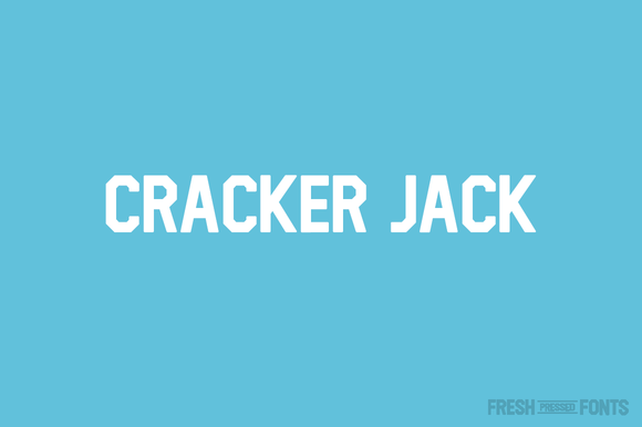 Print on Demand: Cracker Jack Sans Serif Font By Fresh Pressed Fonts - Image 1