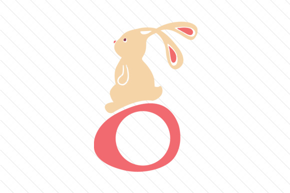 Download Free Easter Bunny Monogram Frames Svg Cut File By Creative Fabrica for Cricut Explore, Silhouette and other cutting machines.