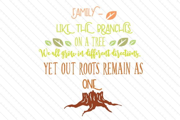 Download Free Family Like The Branches On A Tree Svg Cut File By Creative for Cricut Explore, Silhouette and other cutting machines.