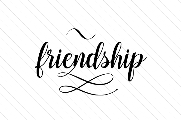Download Free Friendship Svg Cut File By Creative Fabrica Crafts Creative for Cricut Explore, Silhouette and other cutting machines.