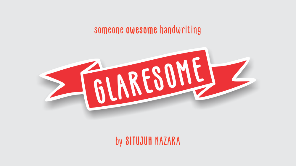 Print on Demand: Glaresome Display Font By Situjuh - Image 1