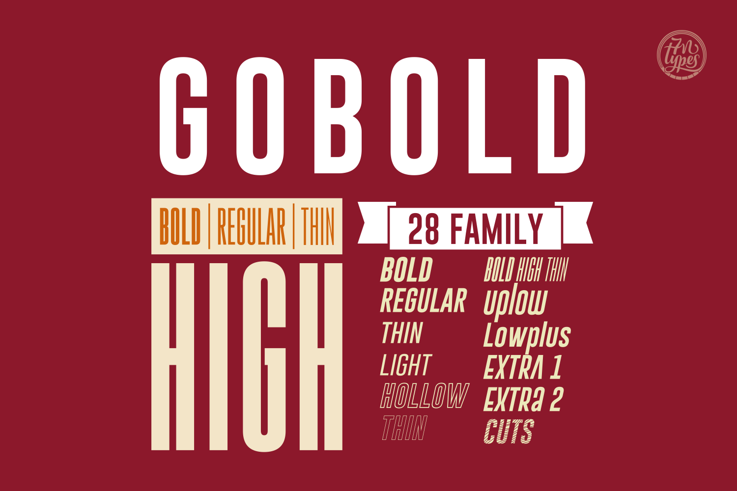 Print on Demand: Gobold Sans Serif Font By Situjuh