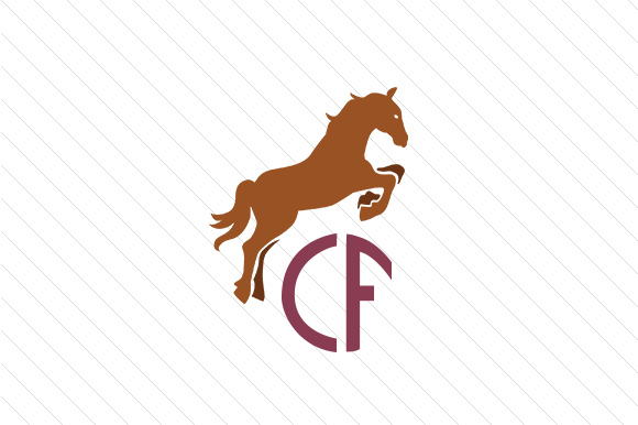 Horse Monogram Frame Svg Cut File By Creative Fabrica Crafts