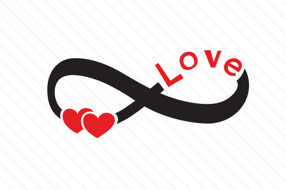 Download Free Infinite Love Svg Cut File By Creative Fabrica Crafts Creative for Cricut Explore, Silhouette and other cutting machines.