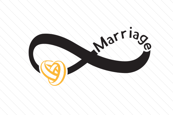 Download Free Infinite Marriage Svg Cut File By Creative Fabrica Crafts Creative Fabrica for Cricut Explore, Silhouette and other cutting machines.