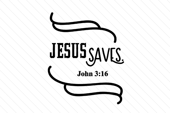 Download Free Jesus Saves Svg Cut File By Creative Fabrica Crafts Creative for Cricut Explore, Silhouette and other cutting machines.