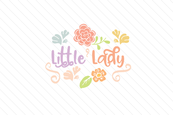 Little Lady Kids Craft Cut File By Creative Fabrica Crafts