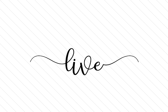 Live Word Art Craft Cut File By Creative Fabrica Crafts