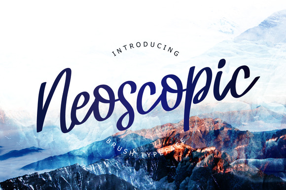 Print on Demand: Neoscopic Script & Handwritten Font By ChekArt